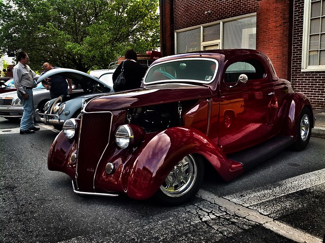 Candy Black Cherry Paint Job >> Black Cherry Hot Rod | Flickr - Photo Sharing!