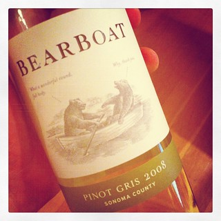 2008 BearBoat Pinot Gris