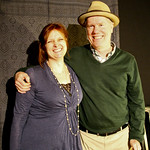 Claudia Marshall and Loudon Wainwright III