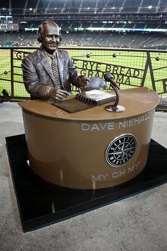 Dave Niehaus statue