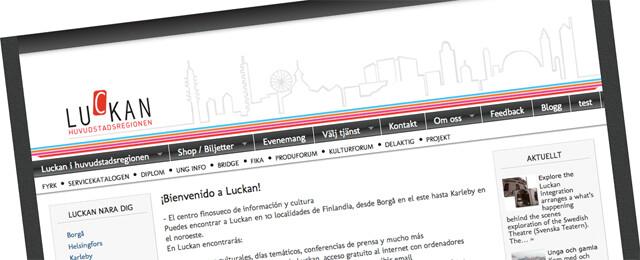 La web del Luckan