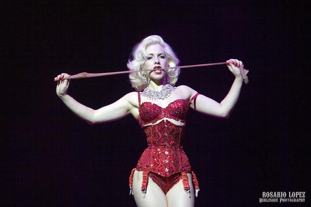Miss Banbury, II Festival Internacional de Burlesque El Molino