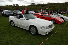 mercedes-benz clk-class(0.0), automobile(1.0), automotive exterior(1.0), wheel(1.0), vehicle(1.0), performance car(1.0), automotive design(1.0), mercedes-benz r129(1.0), mercedes-benz(1.0), bumper(1.0), land vehicle(1.0), luxury vehicle(1.0), convertible(1.0),
