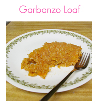 MEAL ICON Garbanzo Loaf