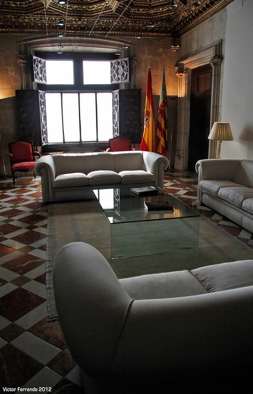 Palau de la Generalitat Valenciana - Valencia