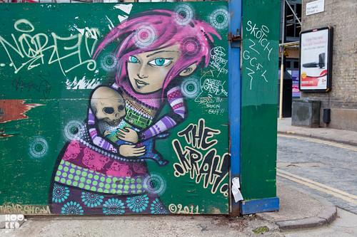 Greek Street Artist The Krah