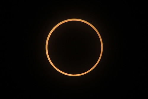 金環日食リング