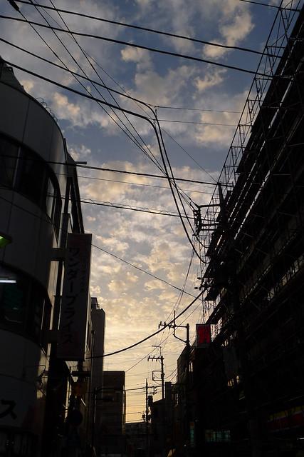 青砥・夕空