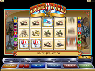 Around the World slot game online review
