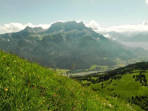 Vue sur Sallanches