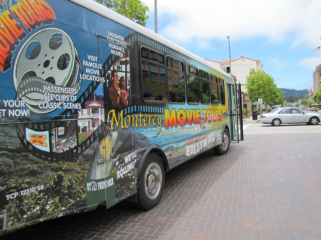 Monterey Movie Tours Bus