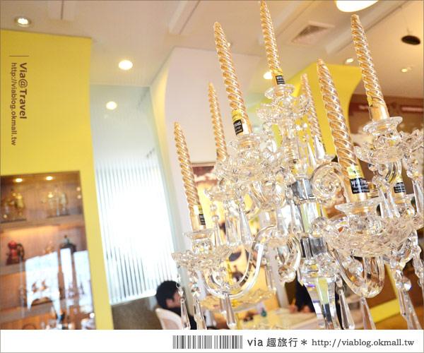 【彰化大村】進昌咖啡烘焙館~田園中的黃色歐式城堡!8