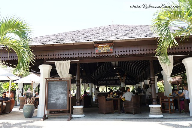 the royal bay beach club - pangkor laut resort