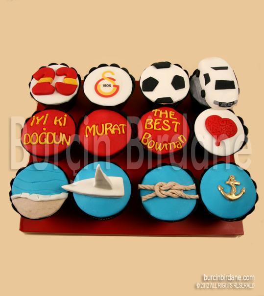 Galatasaray Cupcake