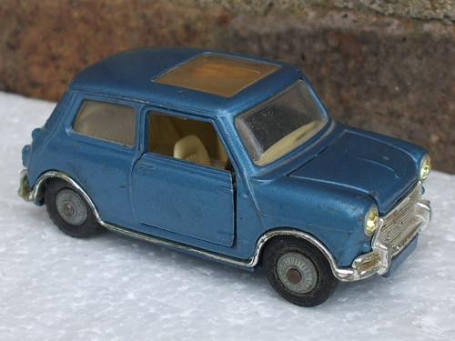 Vintage Corgi Toys 1960's Mini Magnifique in Metallic Blue