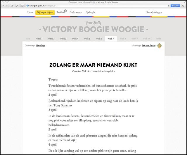 Victory Boogie Woogie