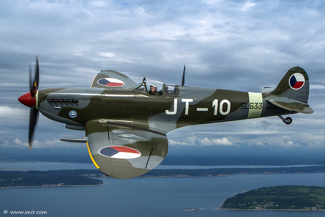 The Supermarine Spitfire Mark IXe SL633, Is formerly 20-42 IAF 1948–1952