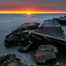 Wind Point sunrise, Lake Michigan by JNickrand