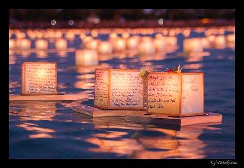 lantern floating ceremony 2013 kyle nishioka