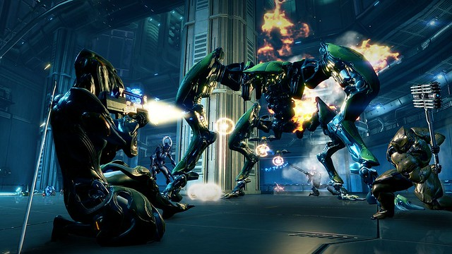 Warframe on PS4
