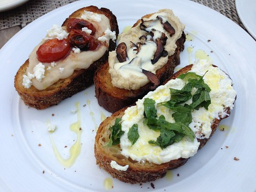 Mixed Crostinis of the Day