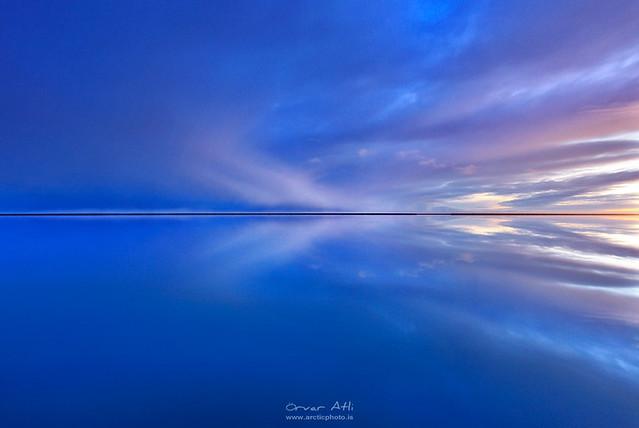 Reflected Infinity - Hali, Iceland
