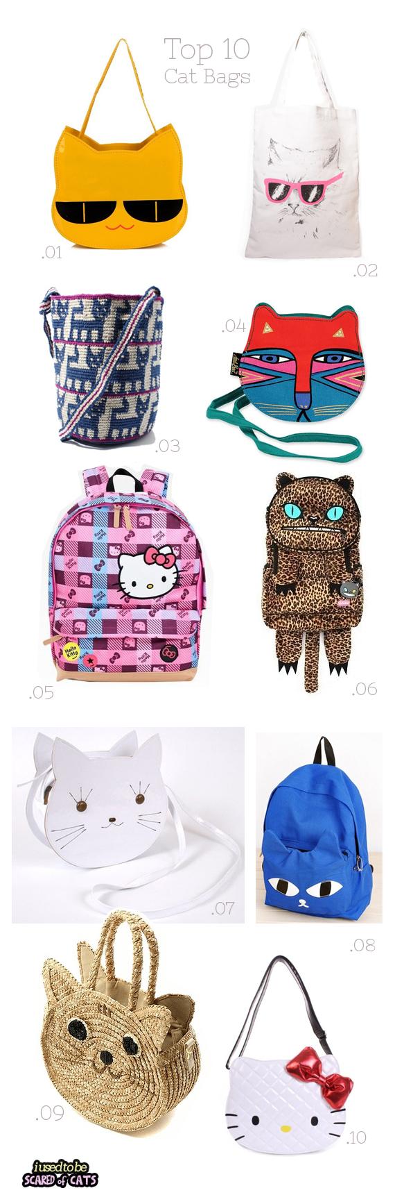 top 10 cat bags