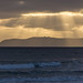 Sunbeams above Cabrillo National Monument. Take 1. by slworking2