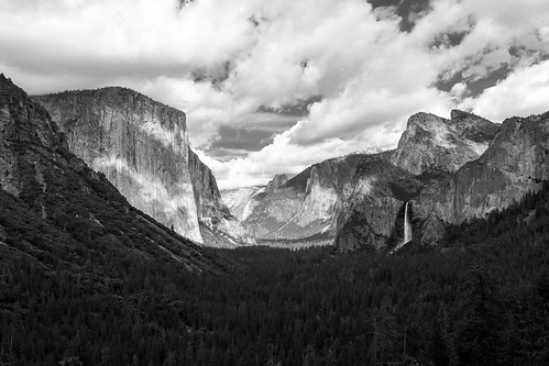 """Monochrome From Tunnel View"""