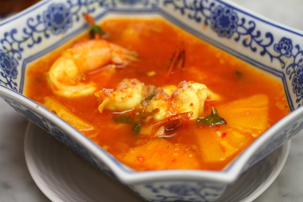 True Blue Cuisine: Udang Kuah Nanas