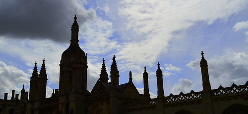 King's College Silhouette