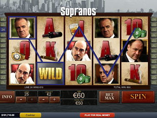 The Sopranos slot game online review