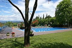 La piscina és un element molt valorat pels visitants de Ca l'Estamenya a l'estiu