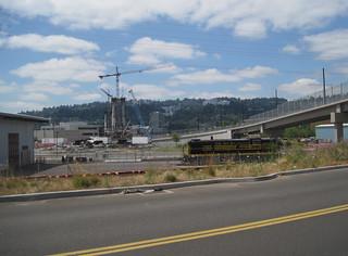 Interurban bridge, streetcar bridge, Utah RSD-5
