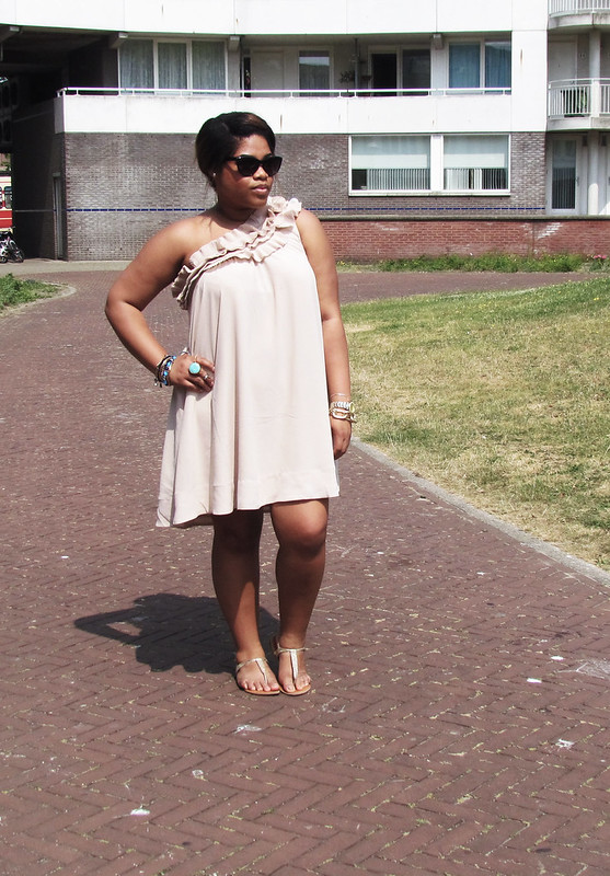 hnm, h&m, dress, new look, zara, ootd, wiww, wiwt, sweet, romantic look, girly, outfit of the day, classy, chic,