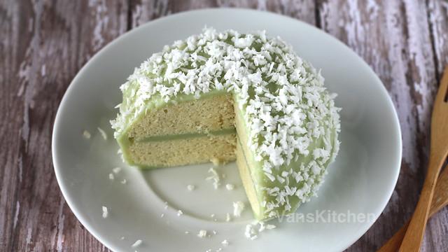 Mount Fuji sponge cake -- Bánh bông lan Phú Sĩ