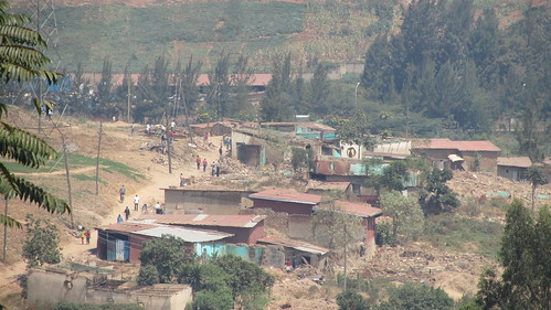 Kigali, the part that resembled Tanzania.