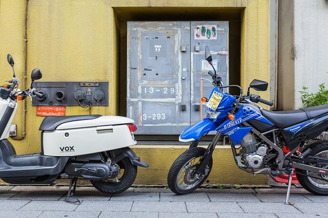 20130730_03_Yamaha VOX & Kawasaki D-TRACKER 125