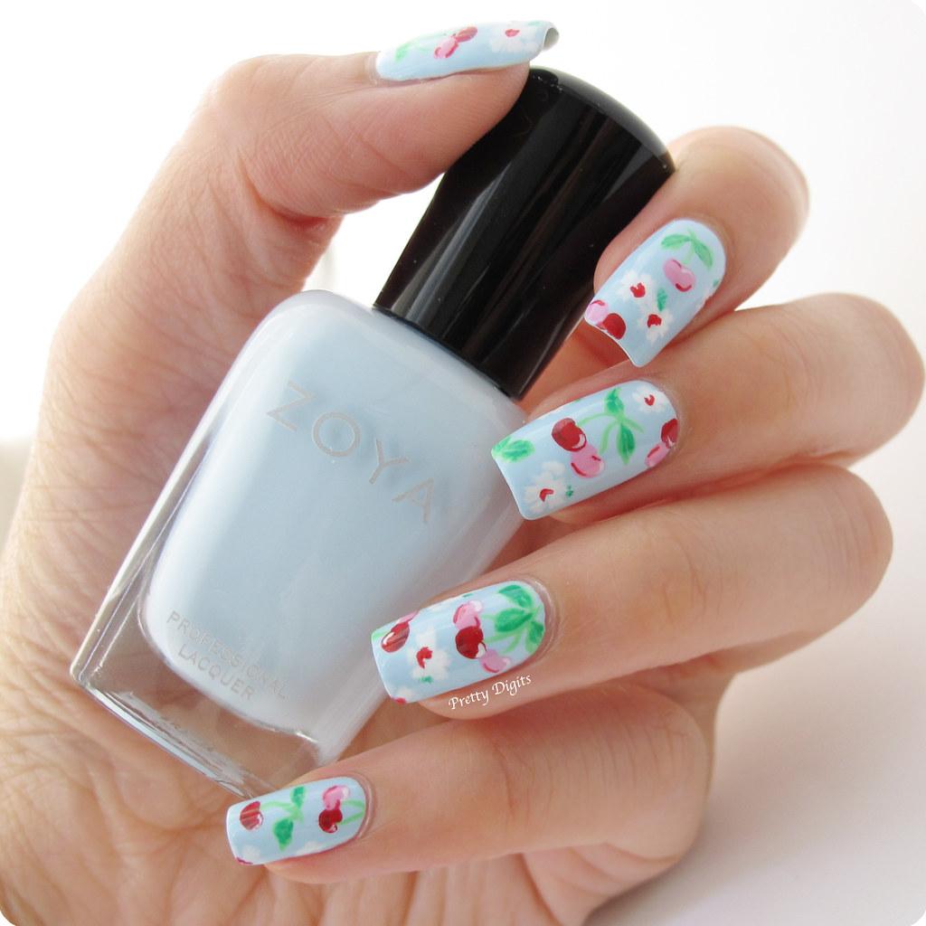 Nail Arts By Rozemist Cath Kidston Vintage Inspired: Pretty Digits: Cath Kidston Inspired Nails