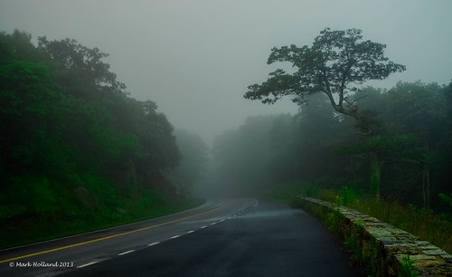 road mountains fog landscape dawn virginia woods nikon country curves shenandoah