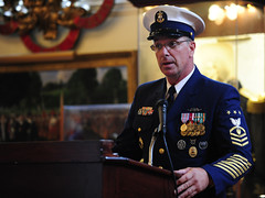 MCPOCG Leavitt speaks at CMC Rochefort's retirement - 1