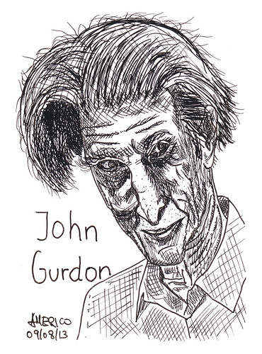 (37) John Gurdon, British developmental biologist by americoneves