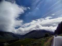 Glencoe and Rannoch skies 3/4