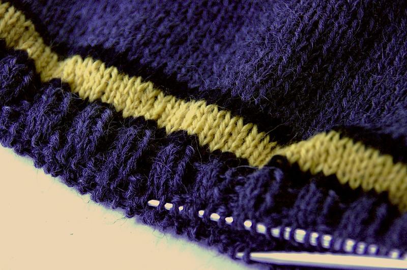 Hufflepuff Hem Stripes