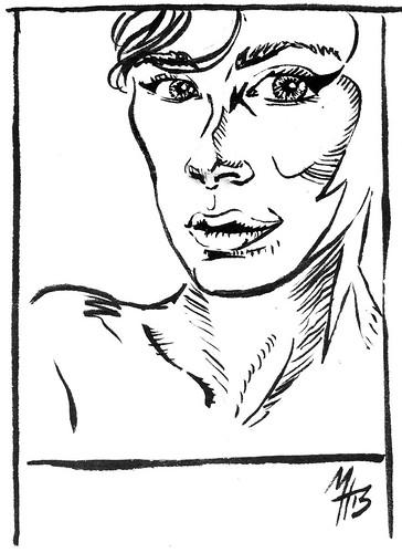 Antlergrrl: Portrait