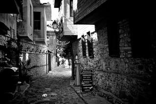 Street in Nessebar (Bulgaria)