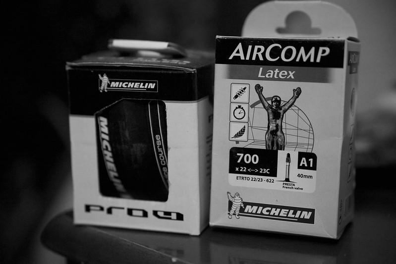 2013-09-01 Michelin Pro4 & Latex