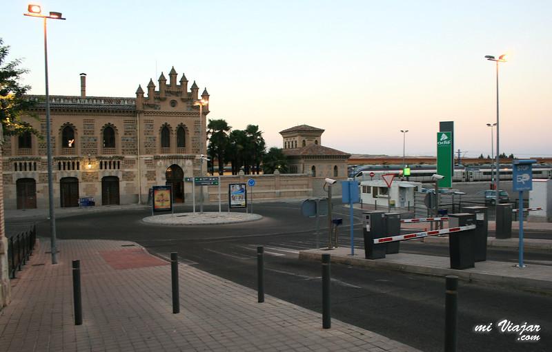 Renfe Madrid Toledo, Estación de tren de Toledo
