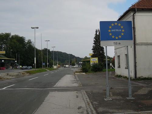 オーストリア入国