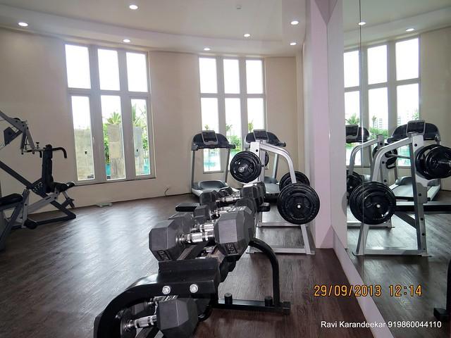 Gym at Sangria Towers, Megapolis, Hinjewadi Phase 3, Pune 411 057 on 28th & 29th September 2013